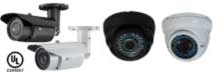 Bullet and Dome Cameras